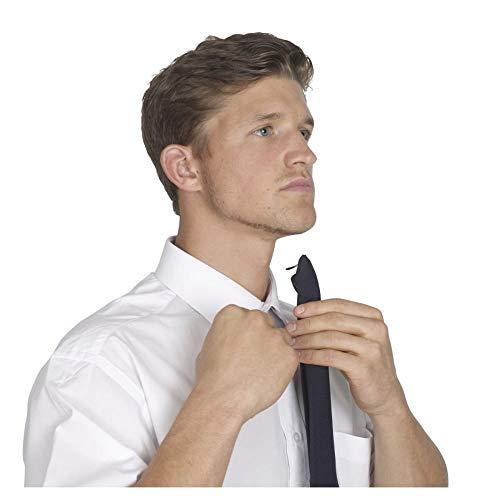 Yoko Clip-On Krawatte (Einheitsgröße) (Schwarz)