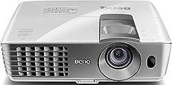BenQ W1070 + 3D home theater DLP projector (Full HD 1920x1080 pixels, 2.200 ANSI lumens, contrast 10.000: 1, 2x HDMI, MHL, vertical lens shift) white