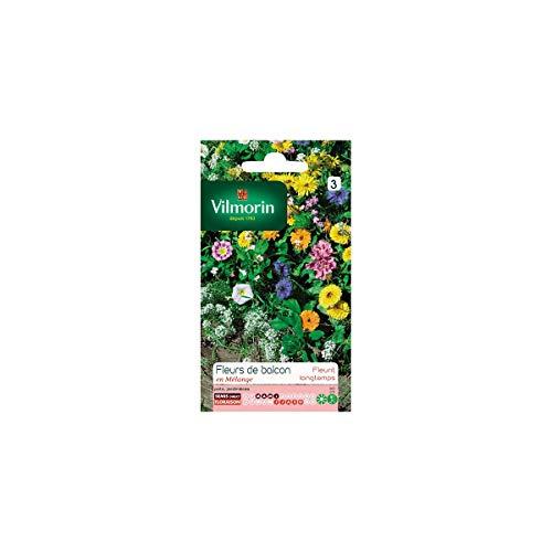 Vilmorin - Sachet graines Fleurs de balcon annuelle en mélange