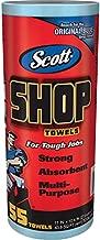 Logistics Supply 75130KC Scott Shop Towels Blue 7/16