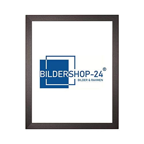 Bildershop-24 Cadre Photo Monza 50 x 70 (Puzzle) Brun foncé