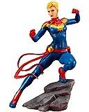 Kotobukiya (KOTOBUKIYA) ARTFX + Marvel Universe Capitán Marvel Escala 1/10 de PVC pintado