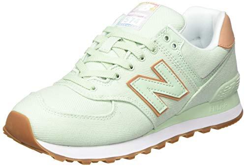 New Balance Damen 574v2 Sneaker, Grün (Green Scd), 38 EU