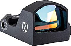1 MOA Windage and Elevation Adjustment / 4 hour auto shut off 6 levels of red illumination featuring on/off between each level. / 40, 000 hours battery life / Battery: CR1632 Assembled in EP-Level Clean Room / 100% Waterproof, Fog Proof and Shockproo...