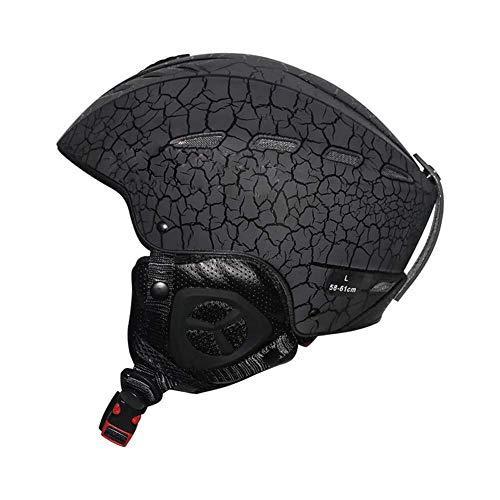 helm, snowboardhelm en snowboardhelm met verstelbare Easy-verstelbare kinriem en 16 ingebouwde Vents, robuust materiaal buitenkant voor bescherming tegen stoten en veiligheid. 002-L