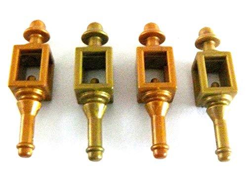 Playmobil ® 4 Laternen für Haus und Garten - Laternen Wandlampen