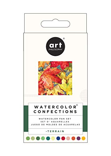 Prima Marketing Prima Confections Watercolor Pans 12/Pkg-Terrain, Original