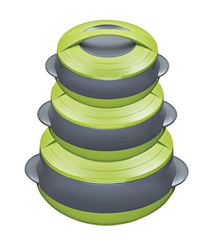 King Thermoset, Kunststoff, grün, 24 x 8 x 7 cm, 6-Einheiten