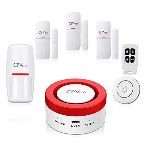CPVAN Wireless House Alarm Syste...