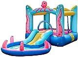 Vivid Juguetes para bebés Castillos hinchables, Castillo Inflable para niños, Juguetes para Diapositivas para niños, Parque Infantil trampolín Inflable, para Interiores y Exteriores