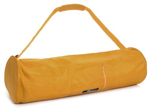Yogistar - Bolsa para alfombrilla de yoga (extragrande, 75 cm) amarillo y...