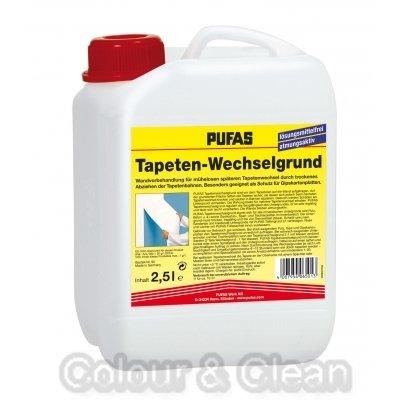 Pufas Tapeten-Wechselgrund 2,5 L Wandvorbehandlung für Tapetenwechsel