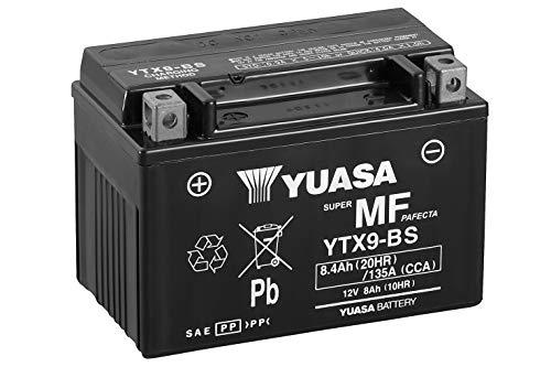 Batería Yuasa YTX9-BS (WC) sin mantenimiento