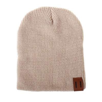 Apparel Accessories Bonnet d'hiver doux et chaud pour bébé Beige