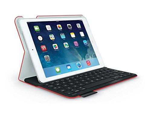 Logitech Ultrathin Keyboard Folio FOR iPad AIR Tastatur, rot