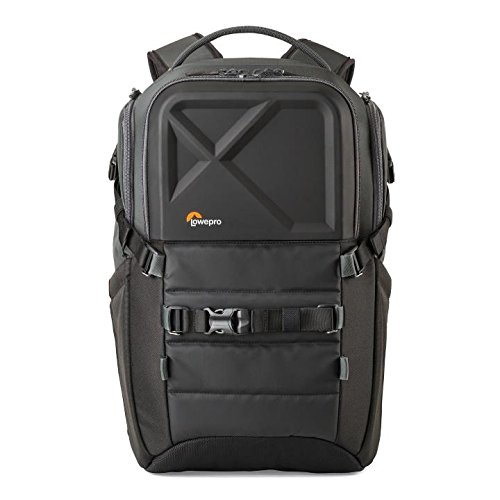 Lowepro QuadGuard BP X3 - Drone Backpack for 4 FPV Quad Racing Drones and 15' Laptop w/Exterior Mounts (Black)
