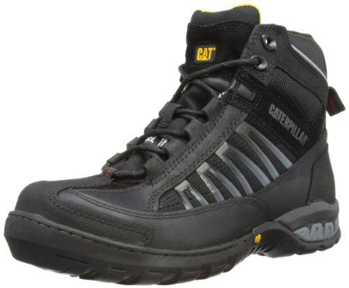 Cat Footwear Herren Kaufman Hi St S1P HRO SRA Sicherheitsstiefel, Schwarz (Black), 40 EU