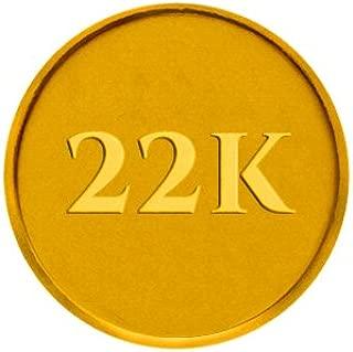 P.C. Chandra Jewellers 22k (916) 2 gm Yellow Gold Coin