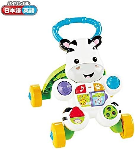 Japan Toy Car Model - Fisher-Price pushes the oil  Zebra-kun of bilingual Walker (DNY98) AF27 by Mattel