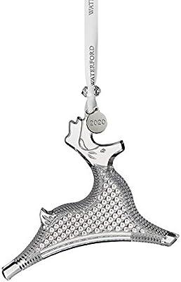 """Waterford 2020 Dancing Reindeer Ornament 4.9"""""""