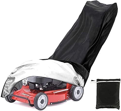 joyvio Cubierta de la cortadora de césped, Cubierta Protectora Impermeable de la cortadora de césped para el césped del jardín al Aire Libre