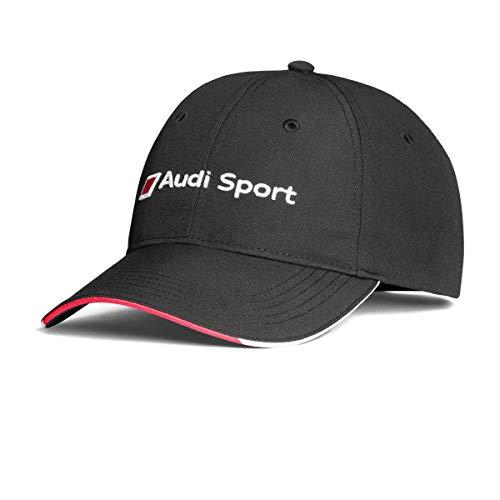 Audi 3131802300 Cap Basecap Original Baseballcap Kappe, Schwarz