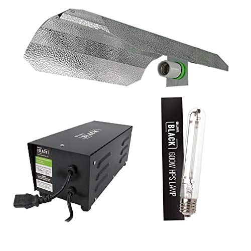 Kit de luz de cultivo Lumii 600 W para balasto hidropónico, color negro, 600 W, HPS Dual Spec (600 W)