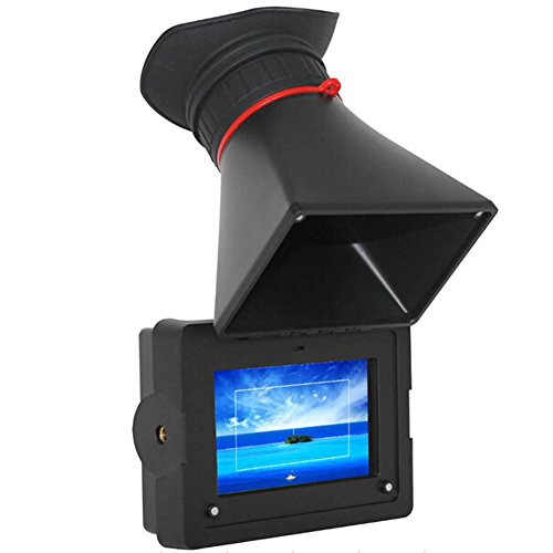 """Feelworld E-350 3.5"""" Electronic ViewFinder 800480 HDMI LCD Field Camera Monitor"""