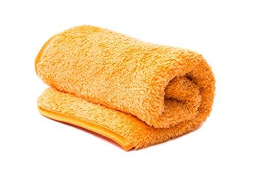 IRISANA 72. ir52na – ręcznik z mikrofibry, 80 x 40 cm, pomarańczowy