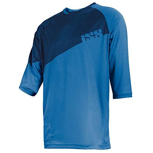 IXS Vibe 6.1 BC Jersey Trikot - fluor blue Größe S