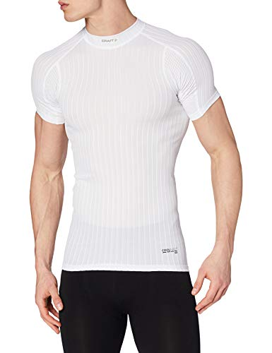 Craft Active Extreme 2.0 sous-vêtement col Rond Manches Courtes Homme Blanc FR : S (Taille Fabricant : B: S)