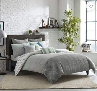 KAS Room Finley Full/Queen Duvet Cover in Grey