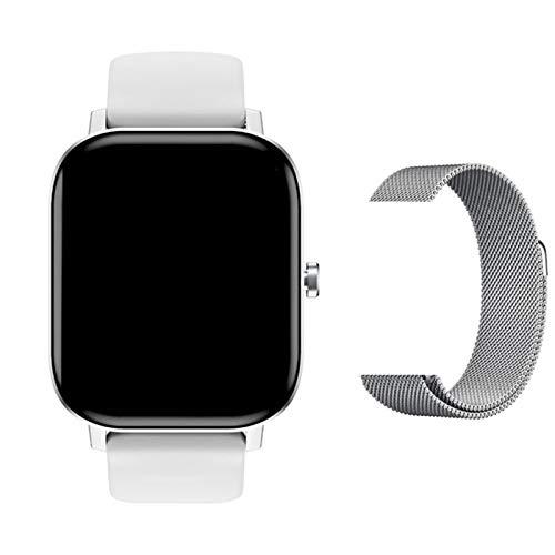 DT36 P8 Pro Bluetooth Call Smart Watch para Hombres Y Mujeres con Pantalla De 1,75 Pulgadas ECG ECG Ritmo Cardíaco Presión Arterial Smart Watch Admite Android iOS,C