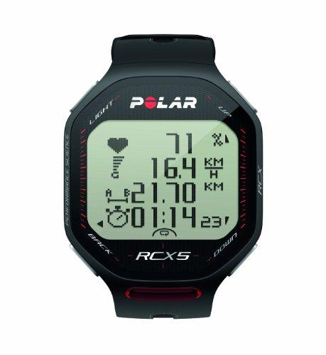 POLAR Herzfrequenzmessgerät RCX5 Multi GPS, black, 90038889