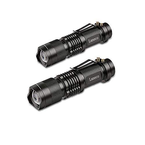 bester der welt Laneco SK68 2-teilige LED-Taschenlampe mit ultrahellem Licht – Taktische Taschenlampe -… 2020