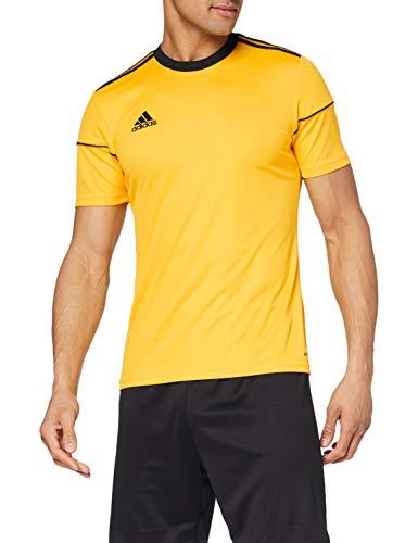 adidas Herren Squad 17 Jsy Ss T-shirt, bold gold/Black, 152