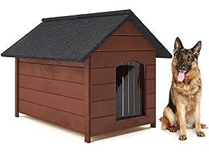 Hundehütte-Holz Hundehütte- Groß XL-viele Variante Niche en Bois pour Chien - Grande Taille