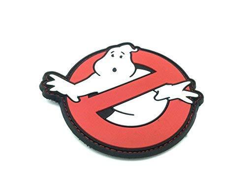Ghostbusters PVC Airsoft Paintball Klett Emblem Abzeichen