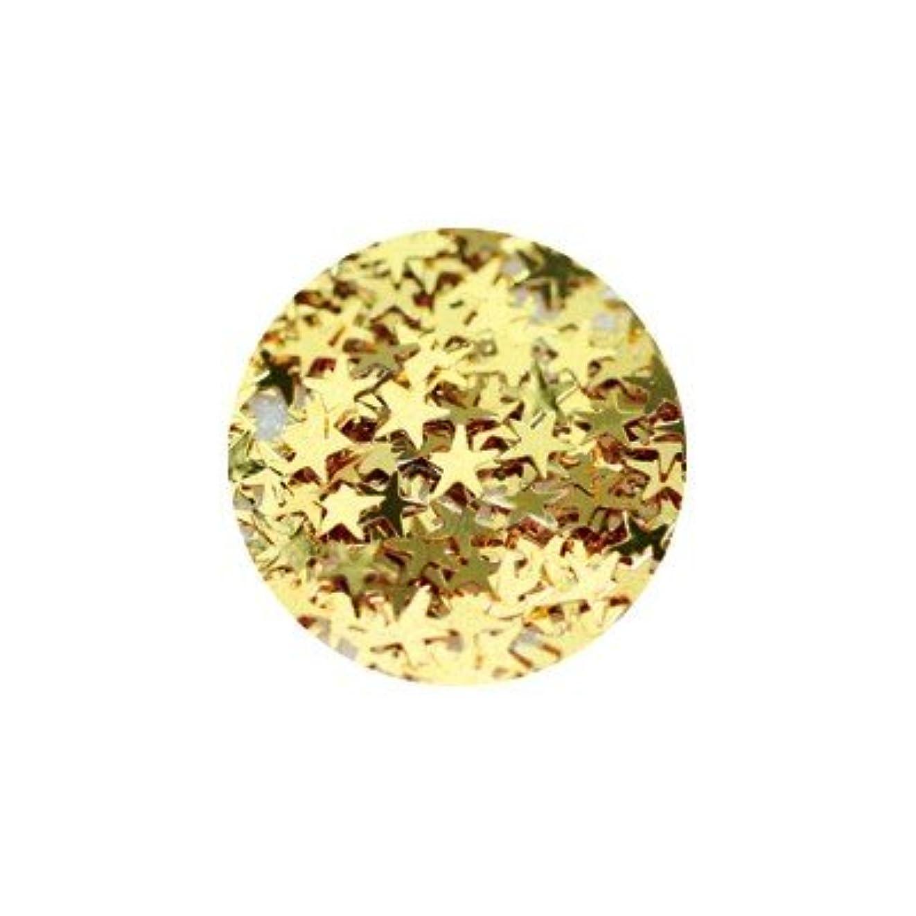 分数是正する相対的キラキラ ゴールド スター 2.5mm
