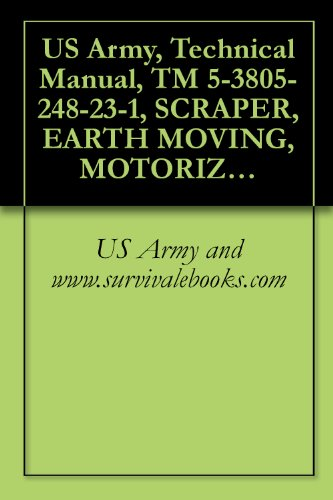 US Army, Technical Manual, TM 5-3805-248-23-1, SCRAPER, EARTH MOVING, MOTORIZED, DIESEL ENGINE DRIVE