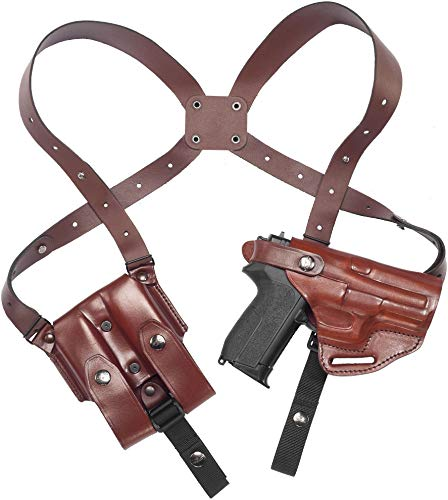 Craft Holsters FN FNS 40 Compact Compatible Holster - Shoulder Holster System (42/22-MAH)