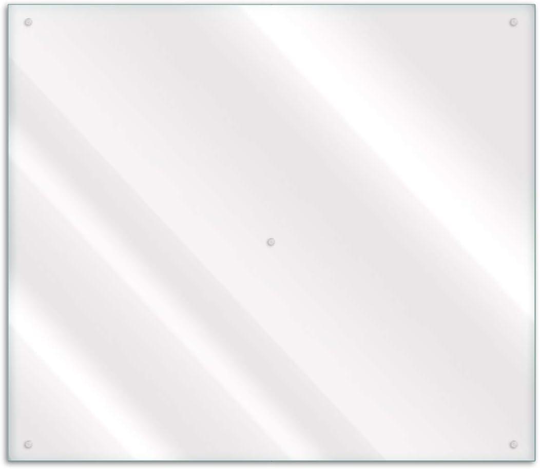 Wallario Herdabdeckplatte Spritzschutz Aus Glas 1 Teilig 60x52cm Für Ceran Und Induktionsherde Transparent Durchsichtig Amazon De Küche Haushalt