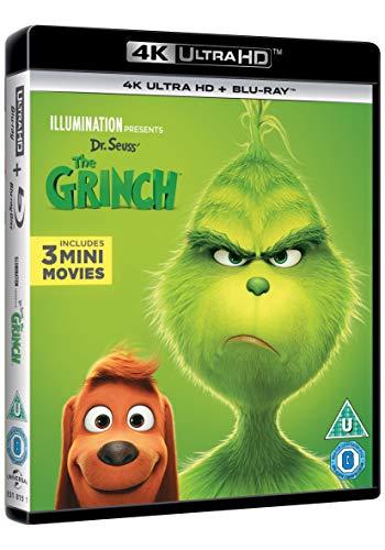 The Grinch (4K UltraHD + Blu-ray) [2018] [Region Free]