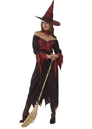 Ciao- Costume per Adulti, Rosso, One Size, 16227