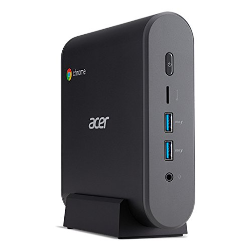 Acer Chromebox CXI3 8th gen Intel Core i3 i3-8130U 4 GB DDR4-SDRAM 64 GB SSD Black Mini PC Chromebox CXI3, 2.2 GHz, 8th gen Intel Core i3, i3-8130U, 4 GB, 64 GB, Chrome OS