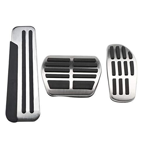 ASHDelk Auto Pedale Gasbremse Fußstütze Rest Pedal Abdeckung, Für Renault Koleos 2 Kadjar Samsung QM6 2016-2020