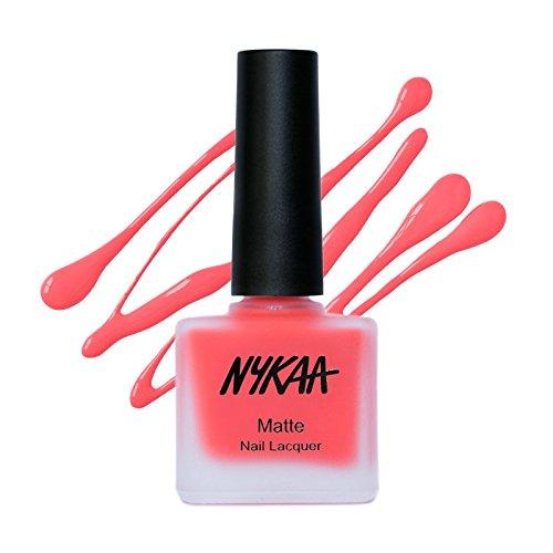 Nykaa Matte Nail Enamel - Cherry Pop (Shade No.75) (9ml)