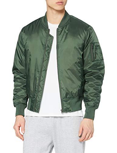 Urban Classics Basic Bomber Jacket Verde