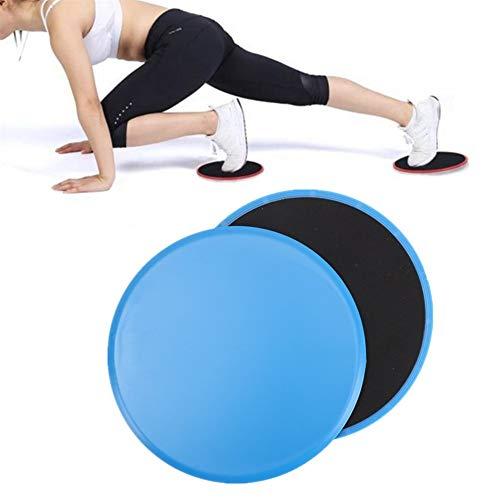 Core Slider Ab Trainer Machine Zweefvliegen Discs Voor Oefening Ab Trainer Thuis Fitnessapparatuur Gym Apparatuur Gym Apparatuur Voor Vrouwen Thuis blue,17.5cm