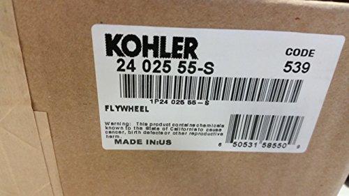 Kohler 24-025-55-S Lawn & Garden Equipment Engine Flywheel Genuine Original Equipment Manufacturer (OEM) Part